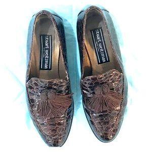 VINTAGE Stuart Weitzman Patent Leather Loafers